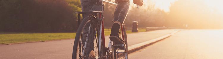 mlynske nivy - cyklisti