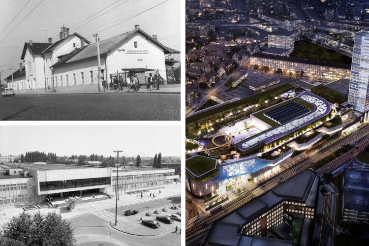 Stanice na Nivách: od konskej železnice po medzinárodný autobusový terminál